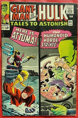 Tales to Astonish 64 Marvel Silver Age 1965