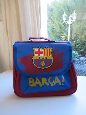 ♥ Sac Cartable Scolaire Maternelle FCB Barcelone