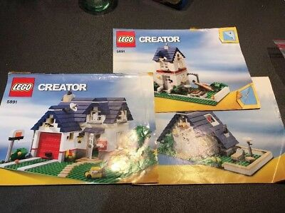 Lego Creator Apple Tree House Set 5891 Complete With Instructions
