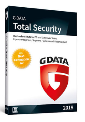g Data Total Security 2018 1 PC 1 Jahr