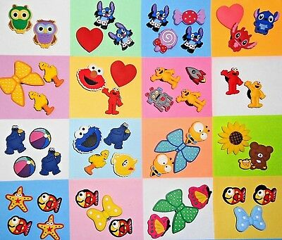 Insect, Sesame Street, Stitch Shoe Charms Kids Sets for Your Crocs like Jibbitz