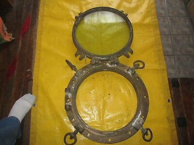 Antique Ship Boat Porthole Brass
