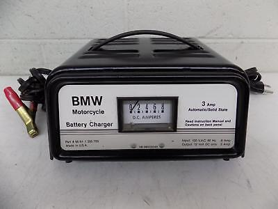 Vintage BMW 3 Amp Solid State Motorcycle Battery Charger 95 61 1 250 700 GREAT