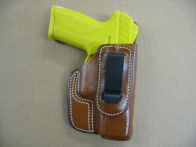 RUGER SECURITY-9 PISTOL Leather Concealed Iwb Holster By Ace
