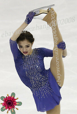 Ice skating dress.stunning competition figure skating/Gymnastics baton costume