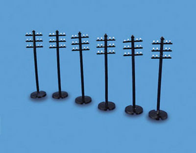 Telegraph Poles - OO/HO Accessories - Model Scene 5080