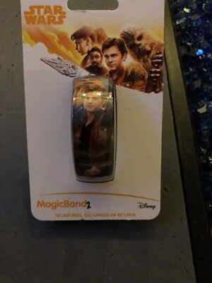 NEW Disney Star Wars Magic Band 2 Chewy And Solo New Movie 2018