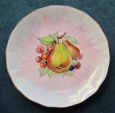 Lovely Vintage Clarice Cliff Royal Staffordshire Plate Fruit Pattern