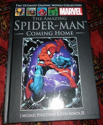 Marvel Ultimate Graphic Novels Collection #21 #1 The Amazing Spiderman: Coming H