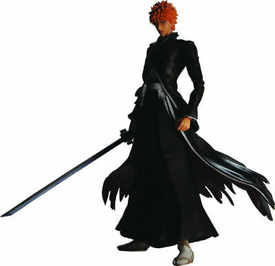 Play Arts Kai Bleach Ichigo Kurosaki PVC Action Figure Statue New In