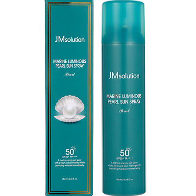 *NEW*JM Solution Marine Luminous Pearl Sun Spray SPF50+PA++++180ml