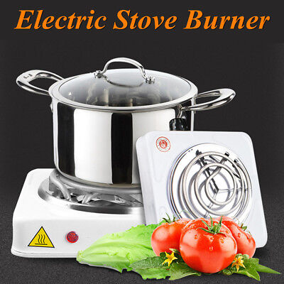 Electric Stove Iron Burner Hot Plate Portable Kitchen Cooker Coffee Heater 1000W