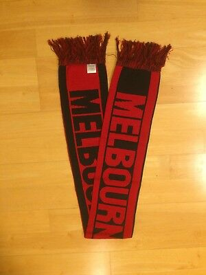 Official Melbourne Demons 2009 Members Afl Football Scarf - New In Packet