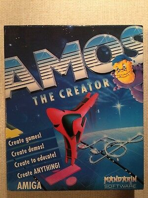 Amos The Creator         -     Complete for  Amiga
