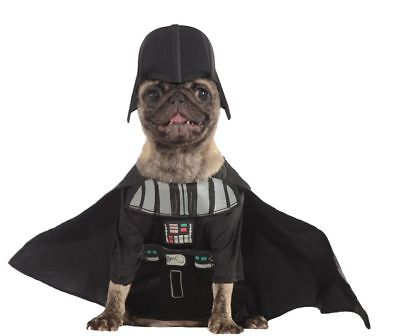 Rubies Star War Pet Darth Classic Vader Costume,Small