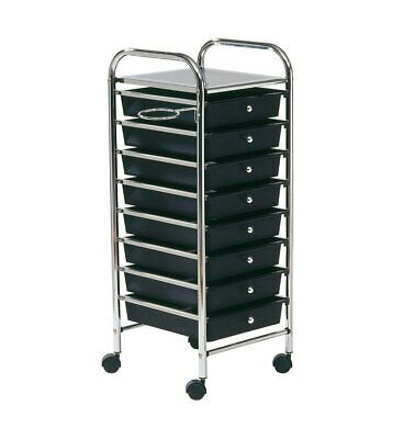 "'Comair 3070134 Boy empilable ""Storage, 32,5 x 33 x 81.5 cm, noir"