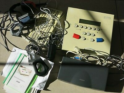 Audiometer Auritec At409 Gehör Screening Hörtest Arbeitsmedizin Bg Bw-San At 409