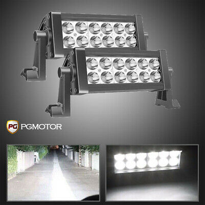 2x7Inch 36W Led work Light Bar Offroad Driving Lamp  ford For  SUV VS Flood