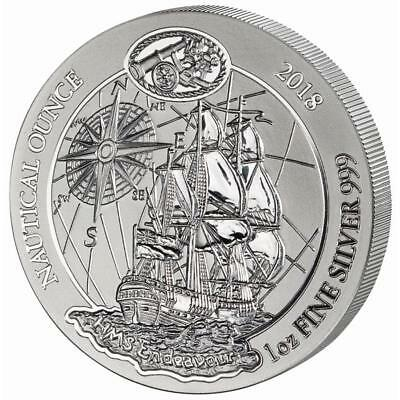 Ruanda - 50 Francs 2018 - Endeavour - Nautical Ounce (2.) - 1 Oz Silber ST