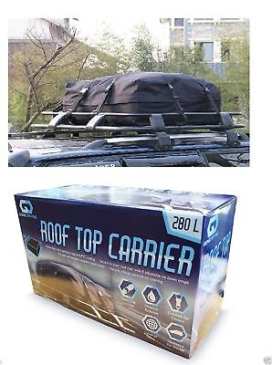 Large 280L Car Truck Roof Top Waterproof Universal Carrier Travel Carriage Bag