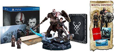 God of War Collector's Edition PS4 * Playstation 4 * Brand new RARE