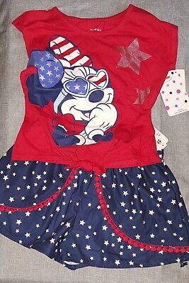"Girls 5T 2pc ""Minnie Mouse"" Outfit"