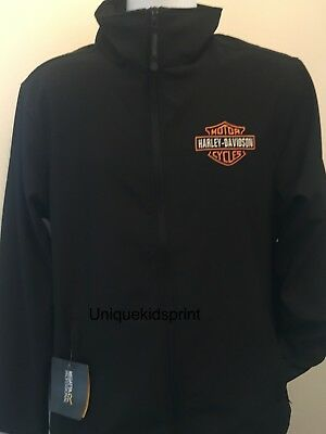 Harley-Davidson Motorcycle Regatta Soft-shell Biker Jacket with embroidered logo