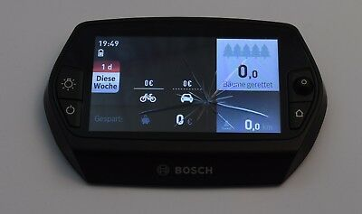 Bosch Nyon E-Bike Bordcomputer Display mit Navi, Fitness, Smartphone F., pedelec