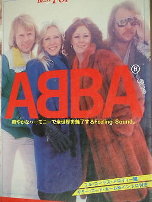 ABBA Best Pop Special Music book score photo 47songs vintage