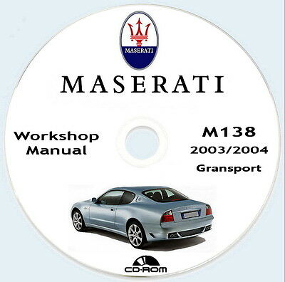 Workshop Manual,Maserati GranSport Coupe'  M138.Manuale Officina,,Imp.Elettrico