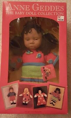 Ann Geddes The Baby Doll Collection African American Doll Reida RARE NIB