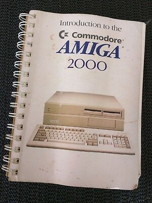 Introduction to Commodore AMIGA 2000 Manual