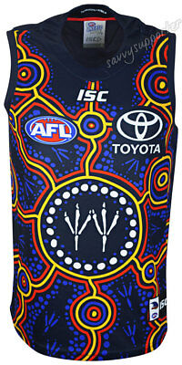 Adelaide Crows 2018 AFL Indigenous Guernsey Mens & Kids Sizes BNWT