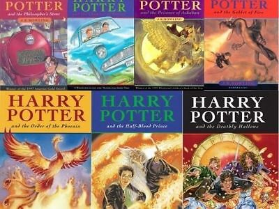 J.K. Rowling - Harry Potter Series Complete 1-7 Collection *Digital Book*