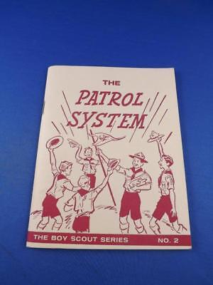 The Patrol System Hand Book Boy Scout Series No. 2 History Meetings Training