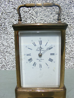 Antique L'epee Striking Carriage Clock