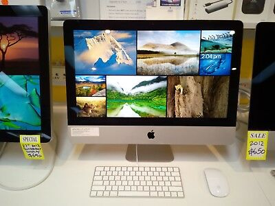 "Apple iMac 21.5"" A1418 Late 2013 (REFURBISHED) 12 months warranty & Tax Invoice"