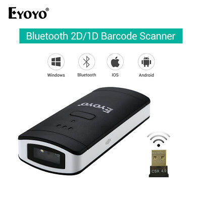Eyoyo Barcode Scanner 1D/2D/QR Code Reader 960*640 CMOS Bluetooth Wired/Wireless