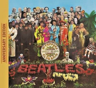 The Beatles Sgt. Pepper's Lonely Hearts Club Band 50Th Anniversary Cd 2017