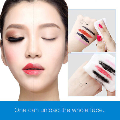 10pcs Makeup Remover Cleansing Facial Wipe Soft Pre-moistened Vitamin Pro pro