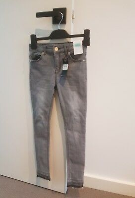 Tilii Girl's Super Stretch Ripped Skinny High Rise Jeans Size 9 - Bnwt $49.95