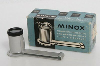 Minox Film Viewing Magnifier in box for camera