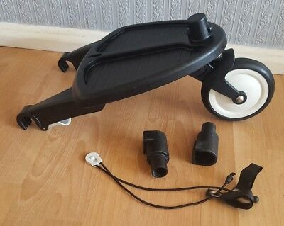 genuine bugaboo Cameleon 1 / 2 / 3 frog wheeled board with original  adapters #