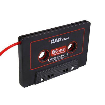 Car Audio Cassette Tape Stereo Adapter For Phone CD MP3/4 AUX 3.5mm Jack