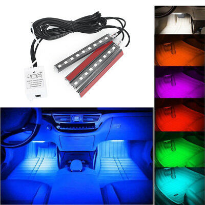 Ambient Light Durable Universal Remote 12V Floor Atmosphere Car