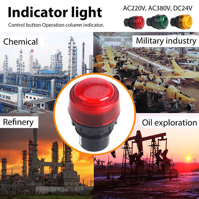 Indicator Light Super Bright Security Durable Multicolor IP66 Explosion-Proof