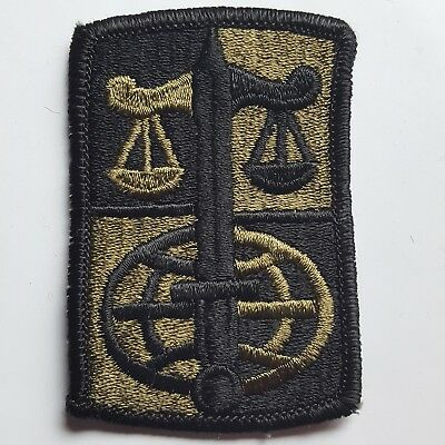 U.s. Army Aufnäher Patch Legal Services Ageny Oliv Subdued Tarn Original