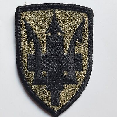 U.s. Army Aufnäher Patch 213Th Medical Brigade Oliv Subdued Tarn Original