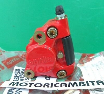 Aprilia Sr50 Sr 50 Racing Stealth Pinza Freno Anteriore Front Brake Caliper Red
