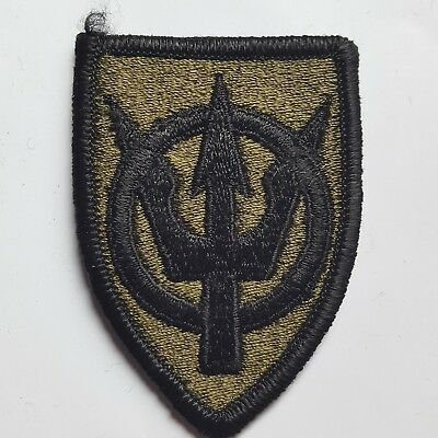 U.s. Army Aufnäher Patch 4Th Transportation Brigade Oliv Subdued Tarn Original